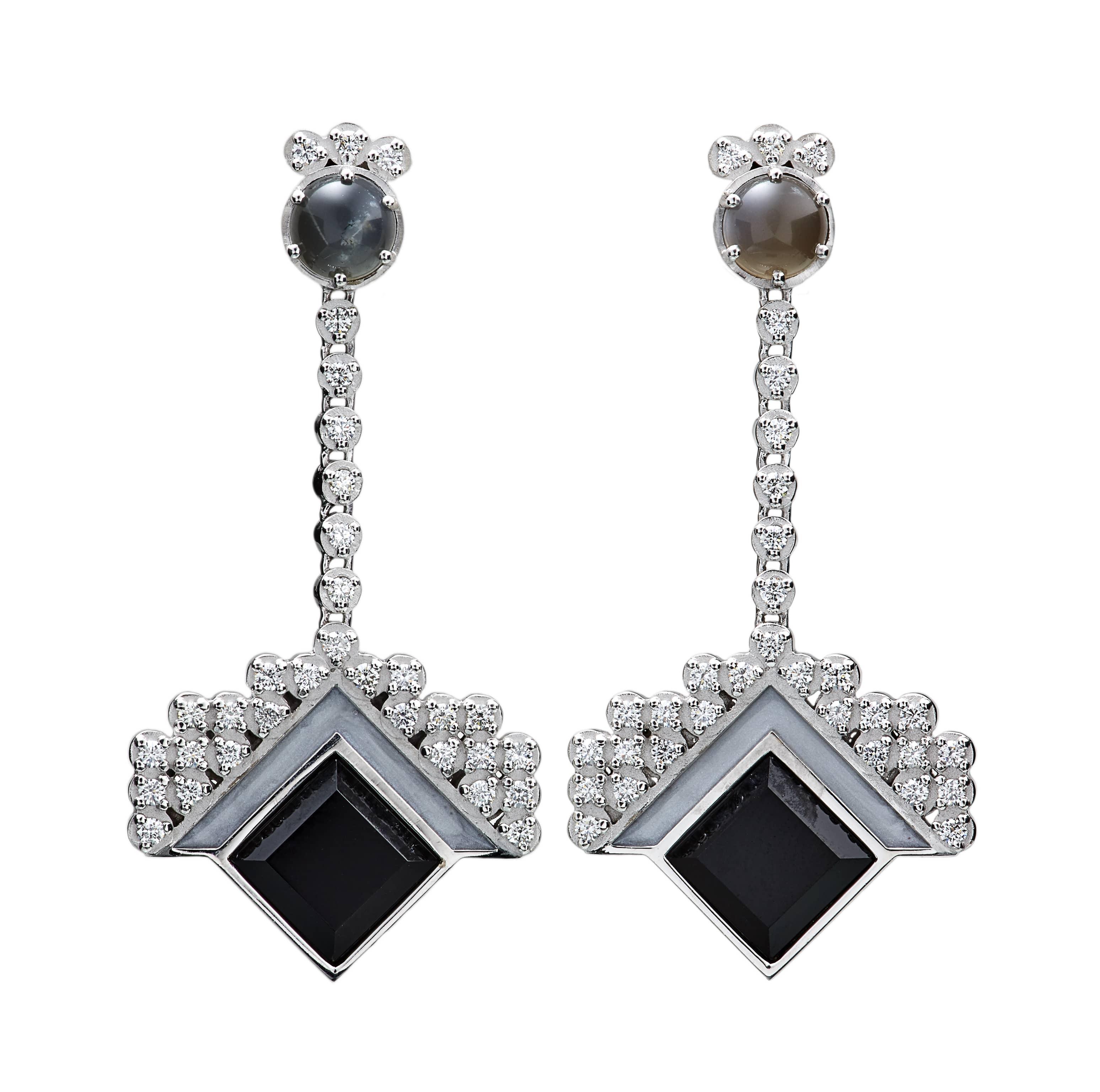 Artistar Anita Sondore_Earrings_Diamond Moonlight Earrings